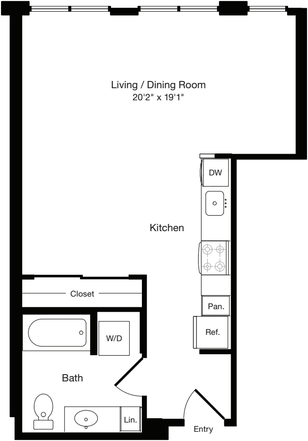 S1 West- Floors 2-3