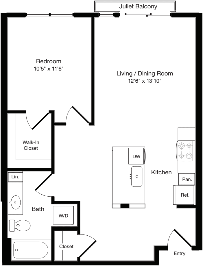 A2 West- Floors 3-6