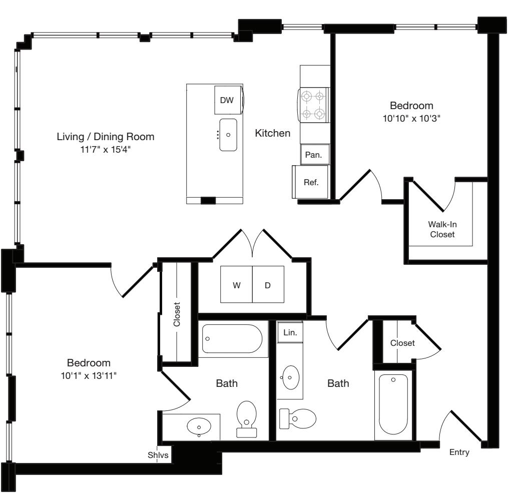 B2a West- Floor 3