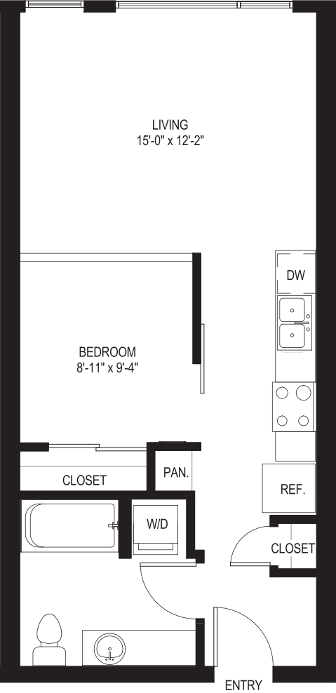 One Bedroom O1