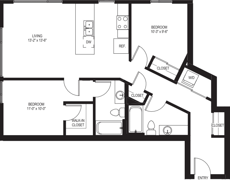 Two Bedroom B3