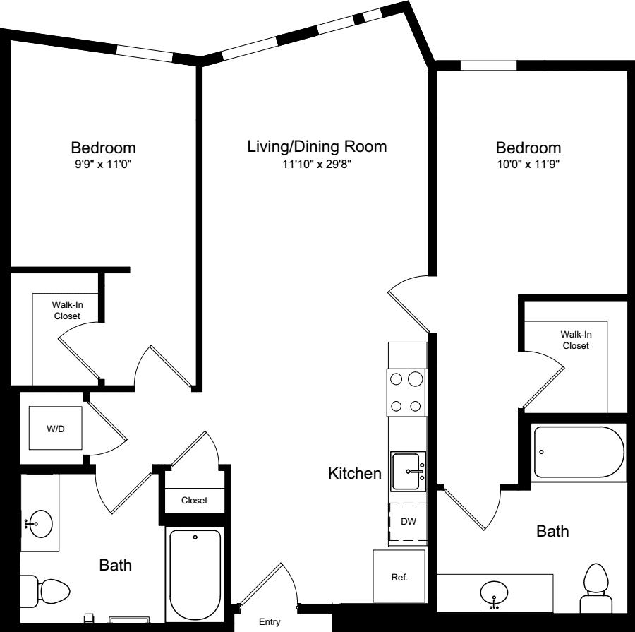 2 Bedroom A3.3