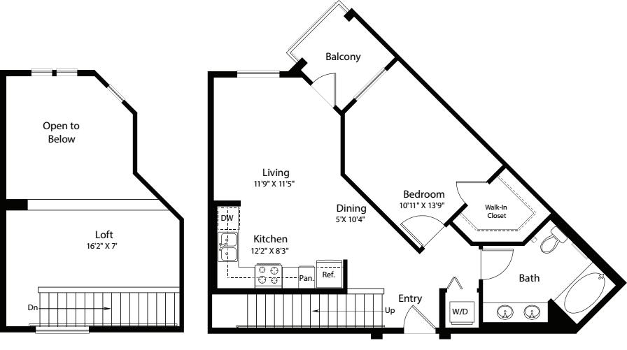 1 Bed- U19 Loft