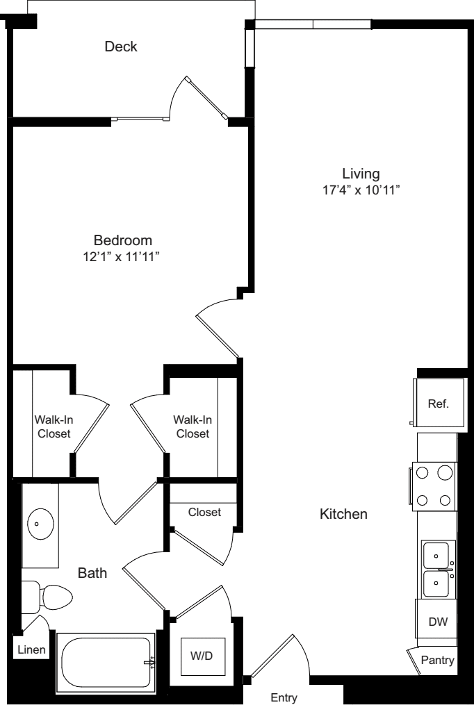 One Bedroom H
