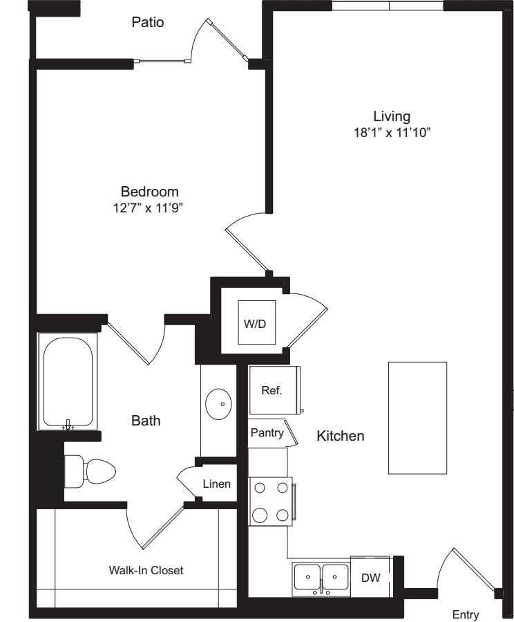 One Bedroom I
