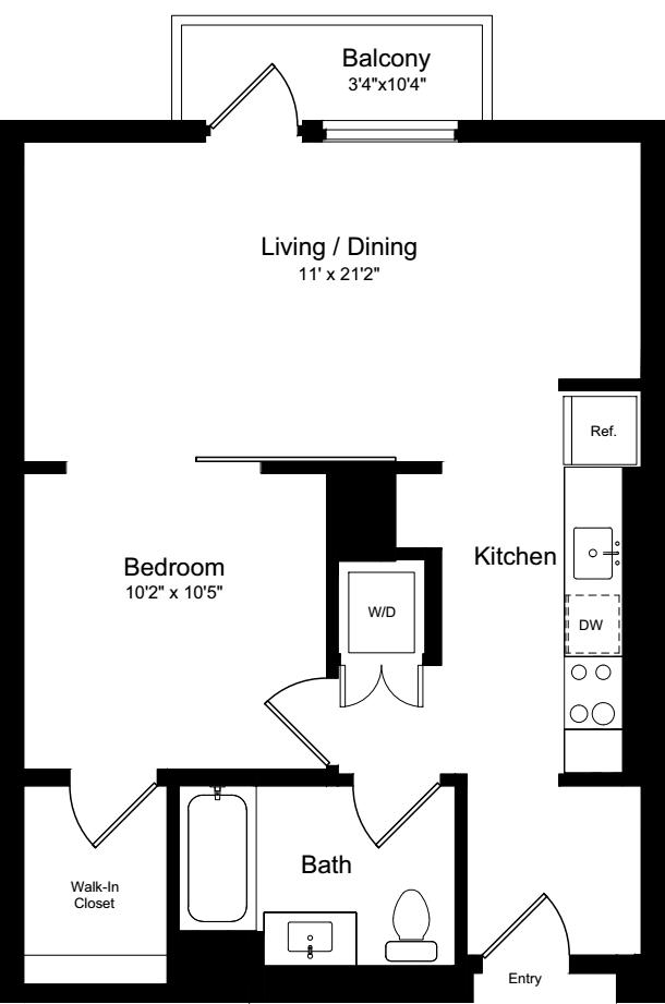 1 Bedroom BB