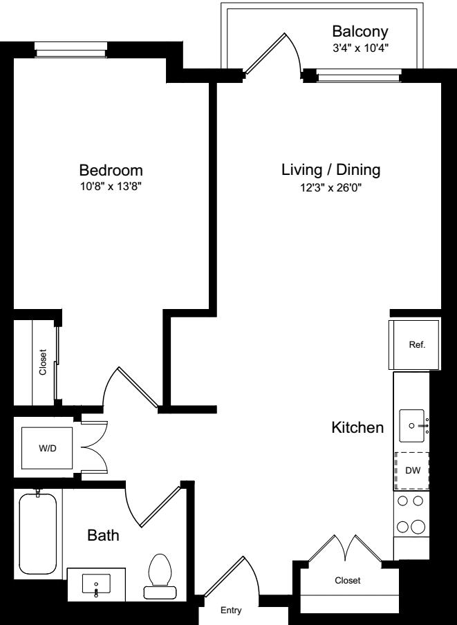 1 Bedroom JB