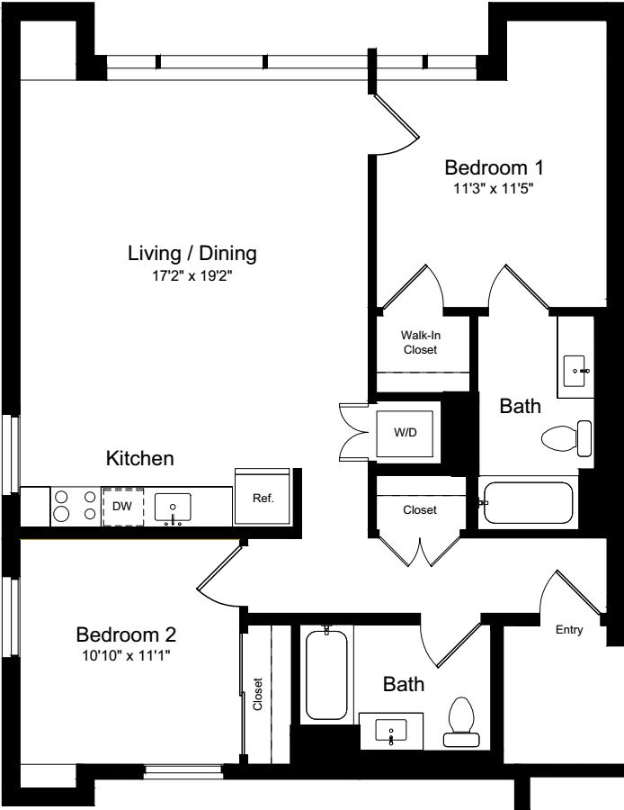 2 Bedroom I