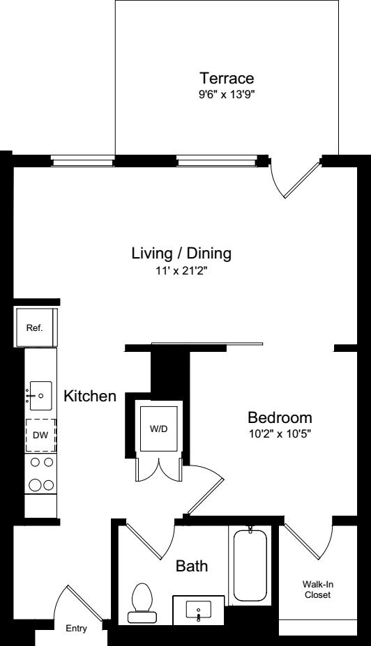 1 Bedroom IT