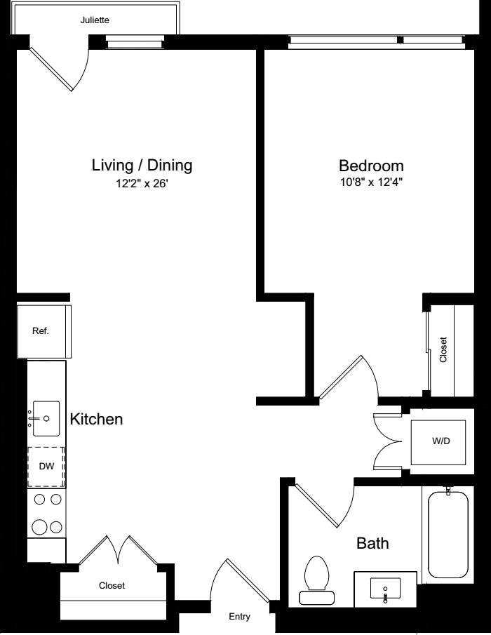 1 Bedroom NJ