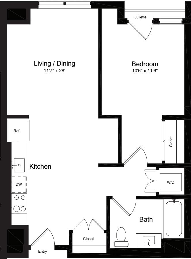 1 Bedroom OJ