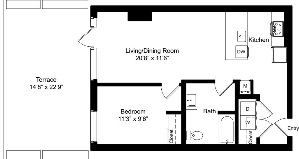 A3a Type A w/ Terrace