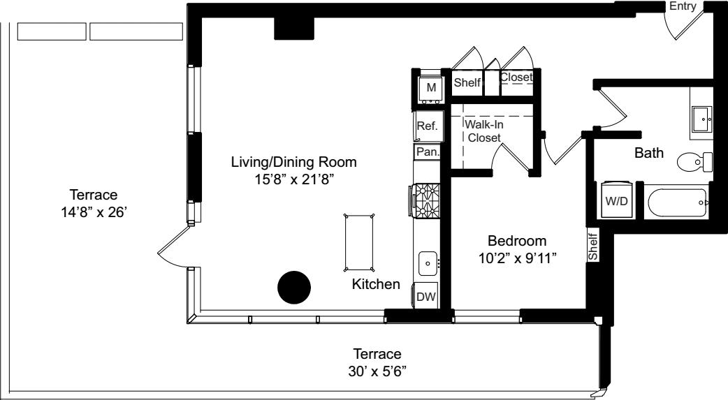 A4a w/ Terrace