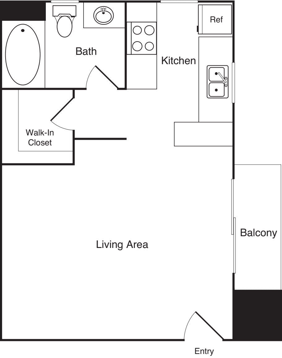 Barrington Ave - Studio