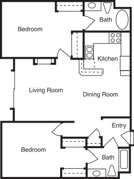 Bundy Dr - 2 Bed