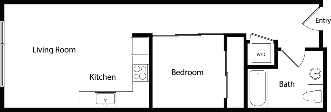 Urban One Bedroom C