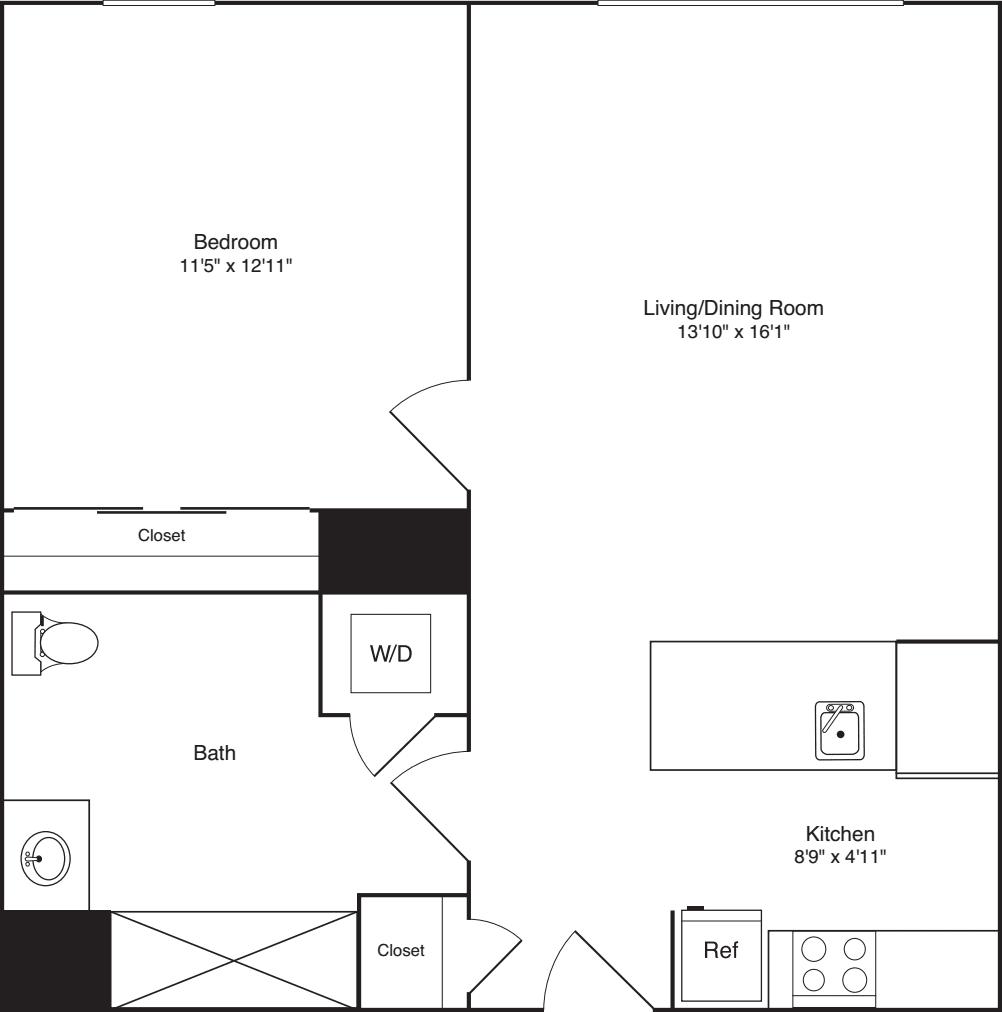 1 Bedroom I_317