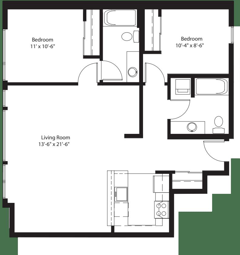 2 Bedroom B