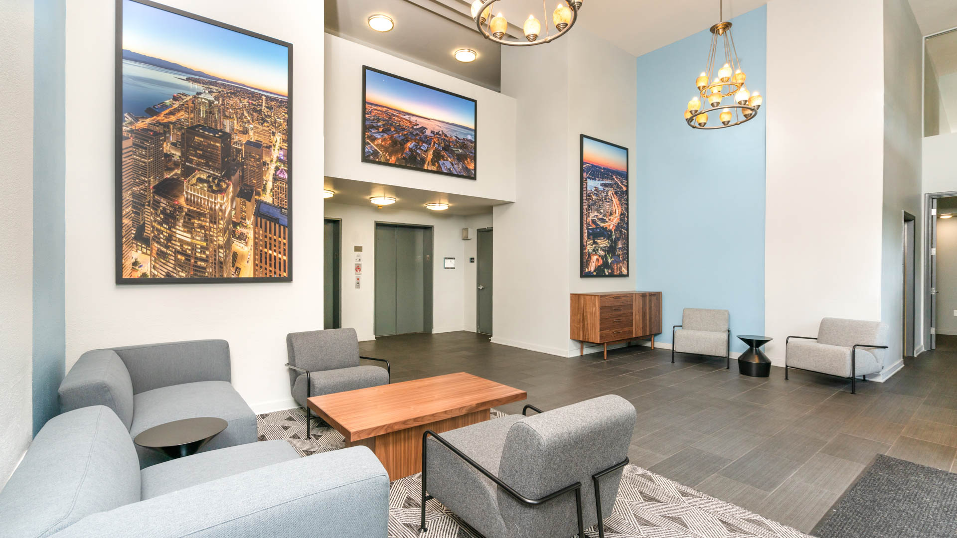 2300 Elliott Apartments - Lobby