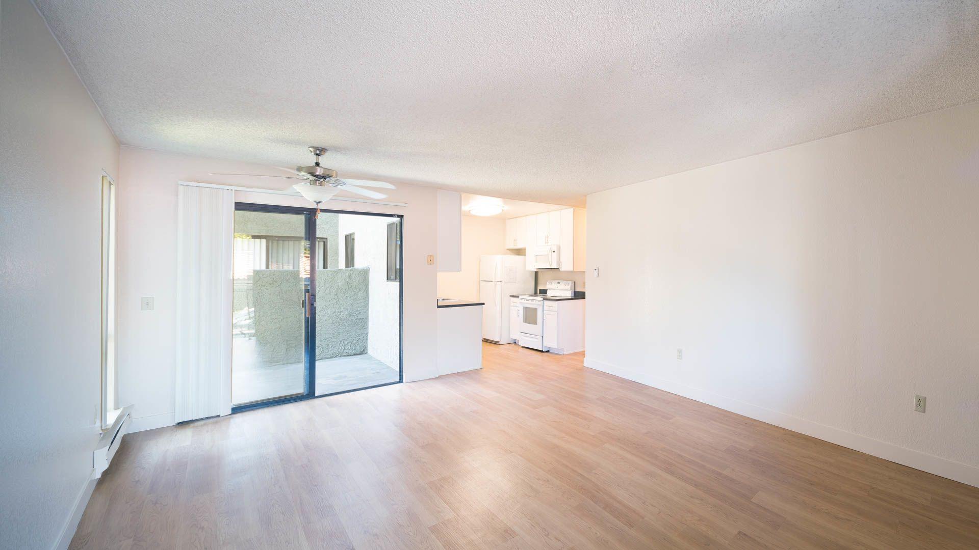 Skylark Apartments - Living Room