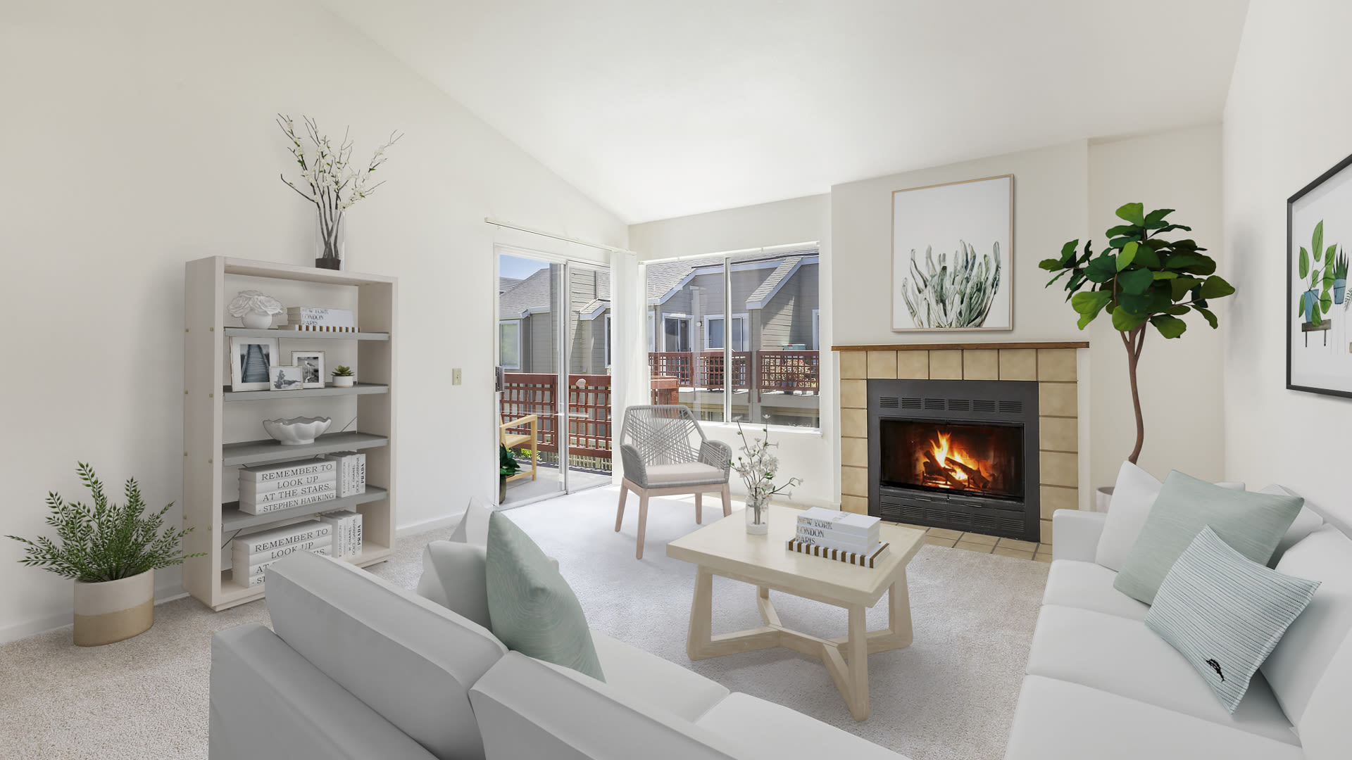 Wood Creek Apartments - Living Room