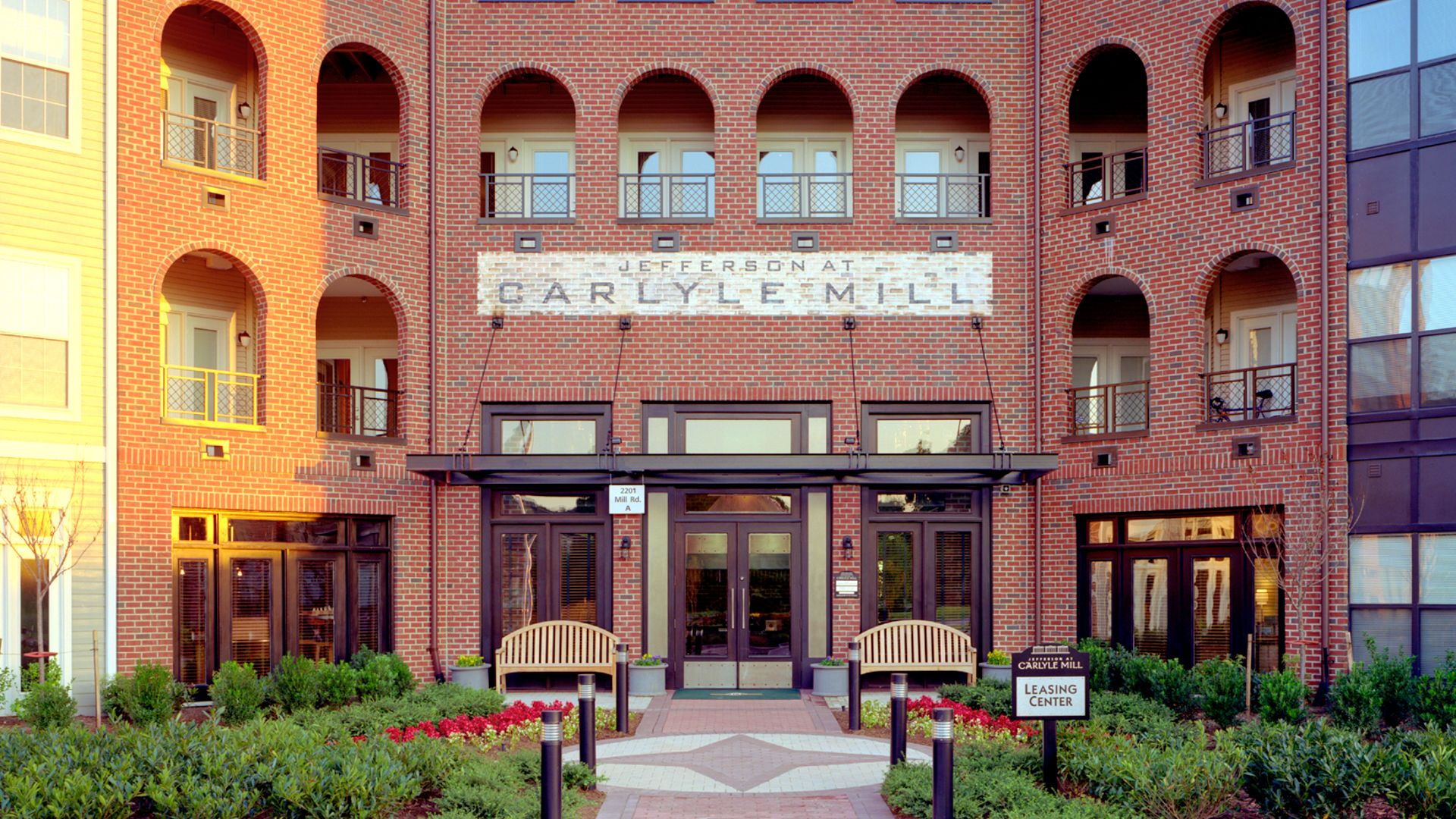 carlyle mill apartments in old town alexandria 2201 mill road