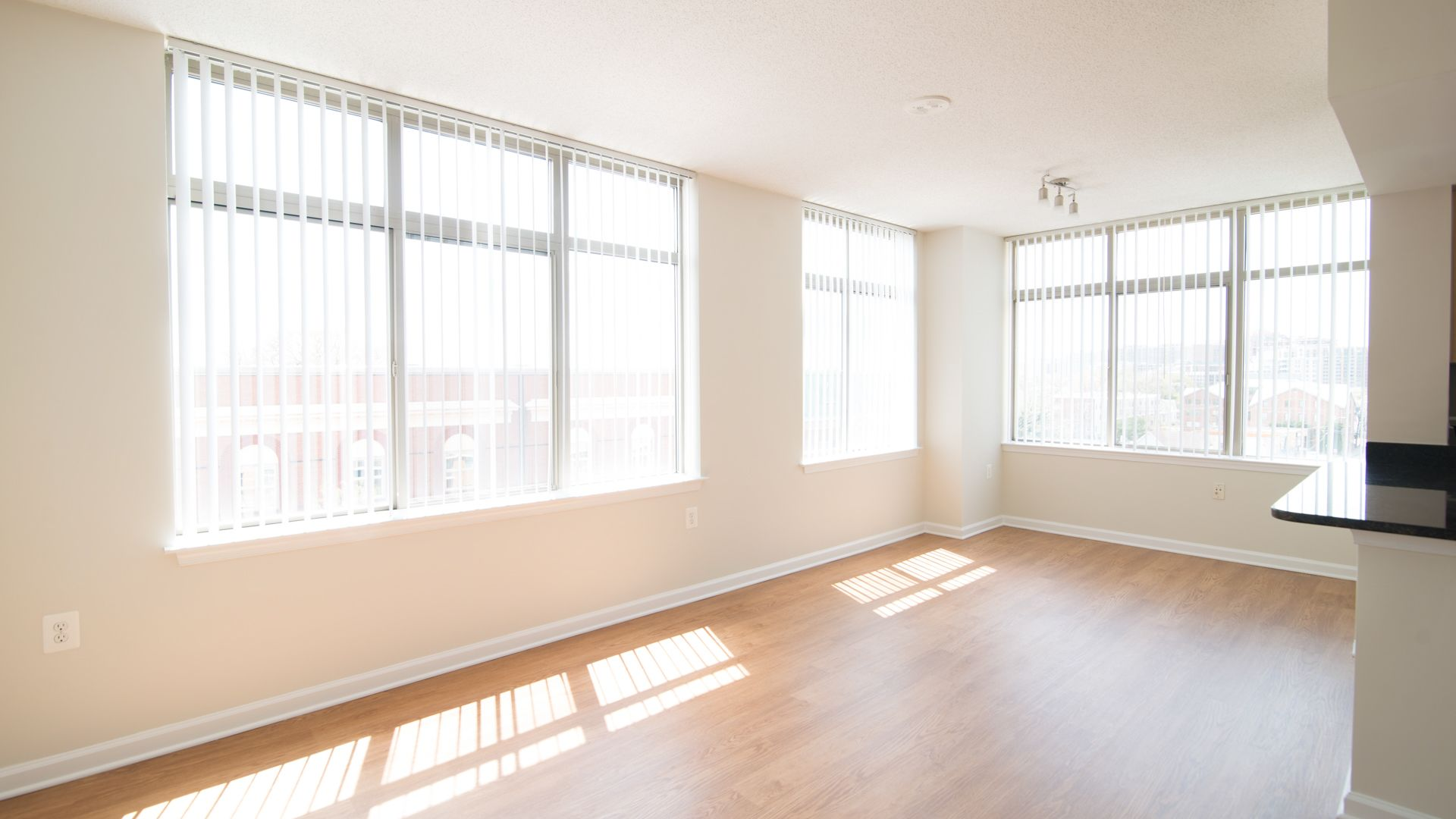 The Reserve at Clarendon Centre Apartments - Living Room