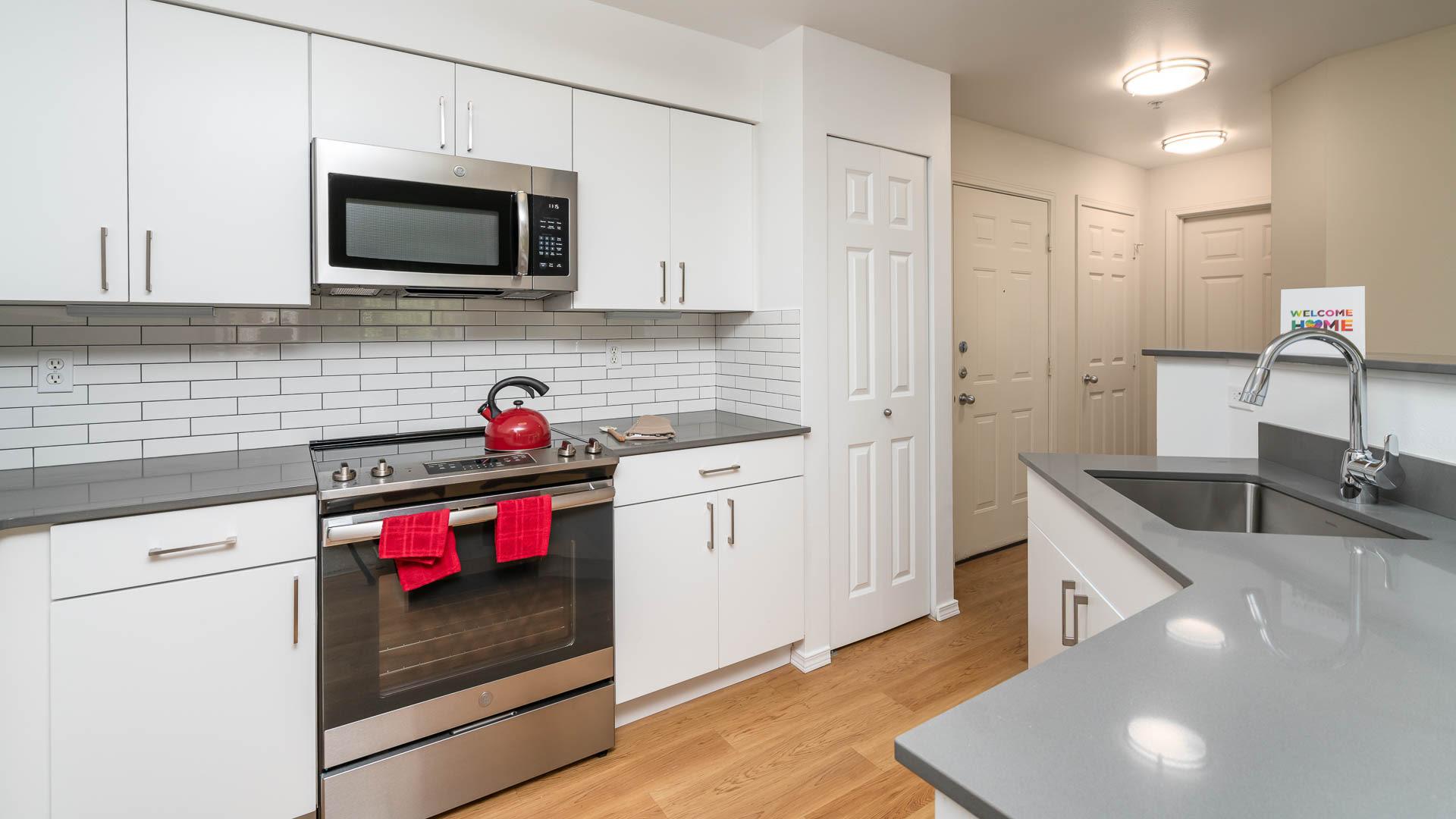 Providence Apartments - Kitchen