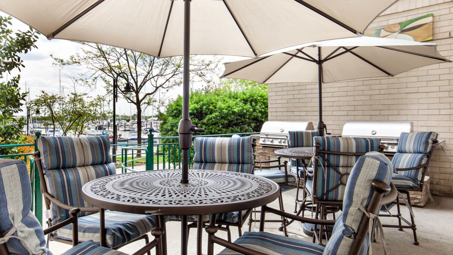 Hudson Point Apartments - Patio