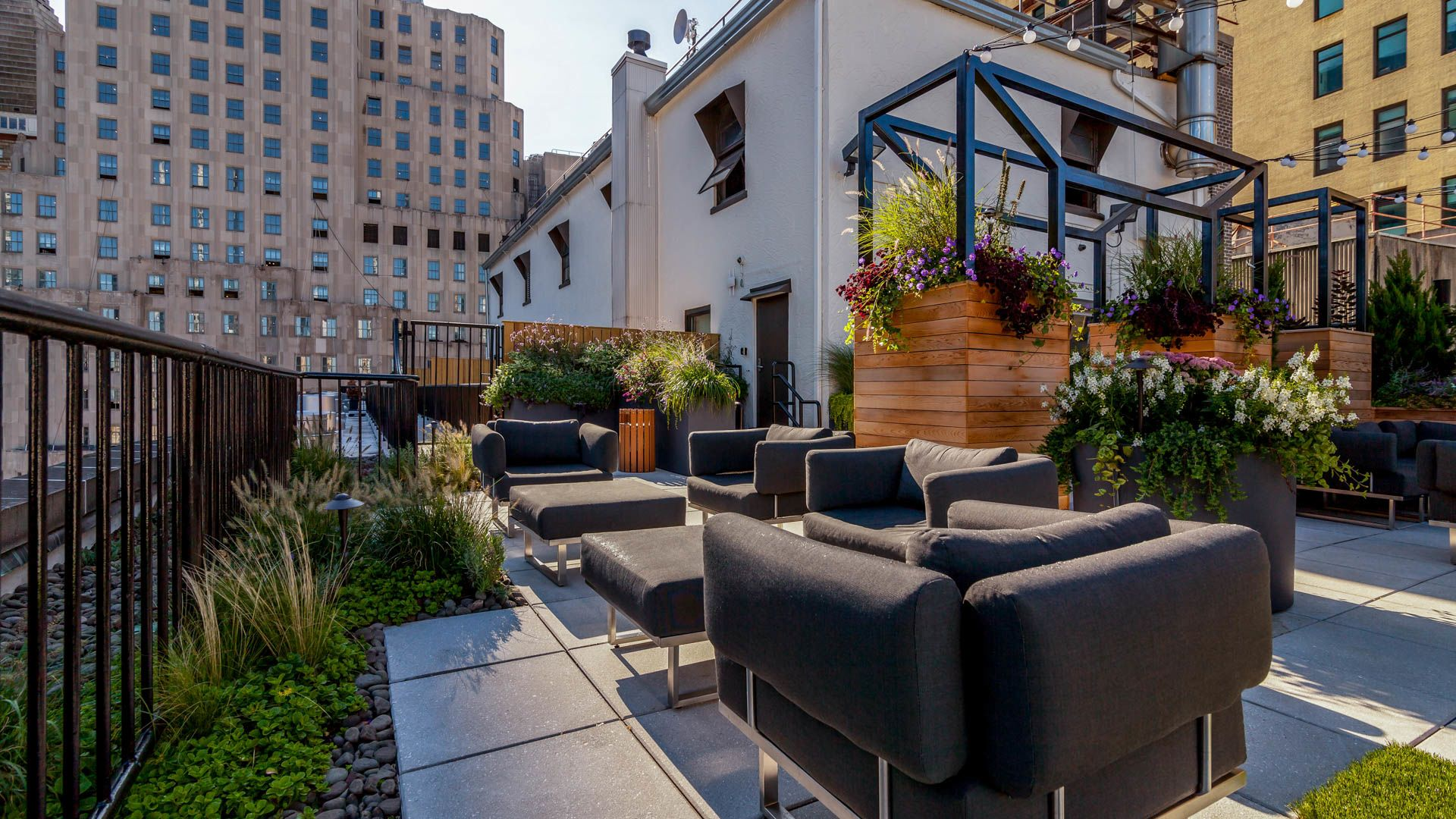 71 Broadway Apartments - Rooftop Terrace
