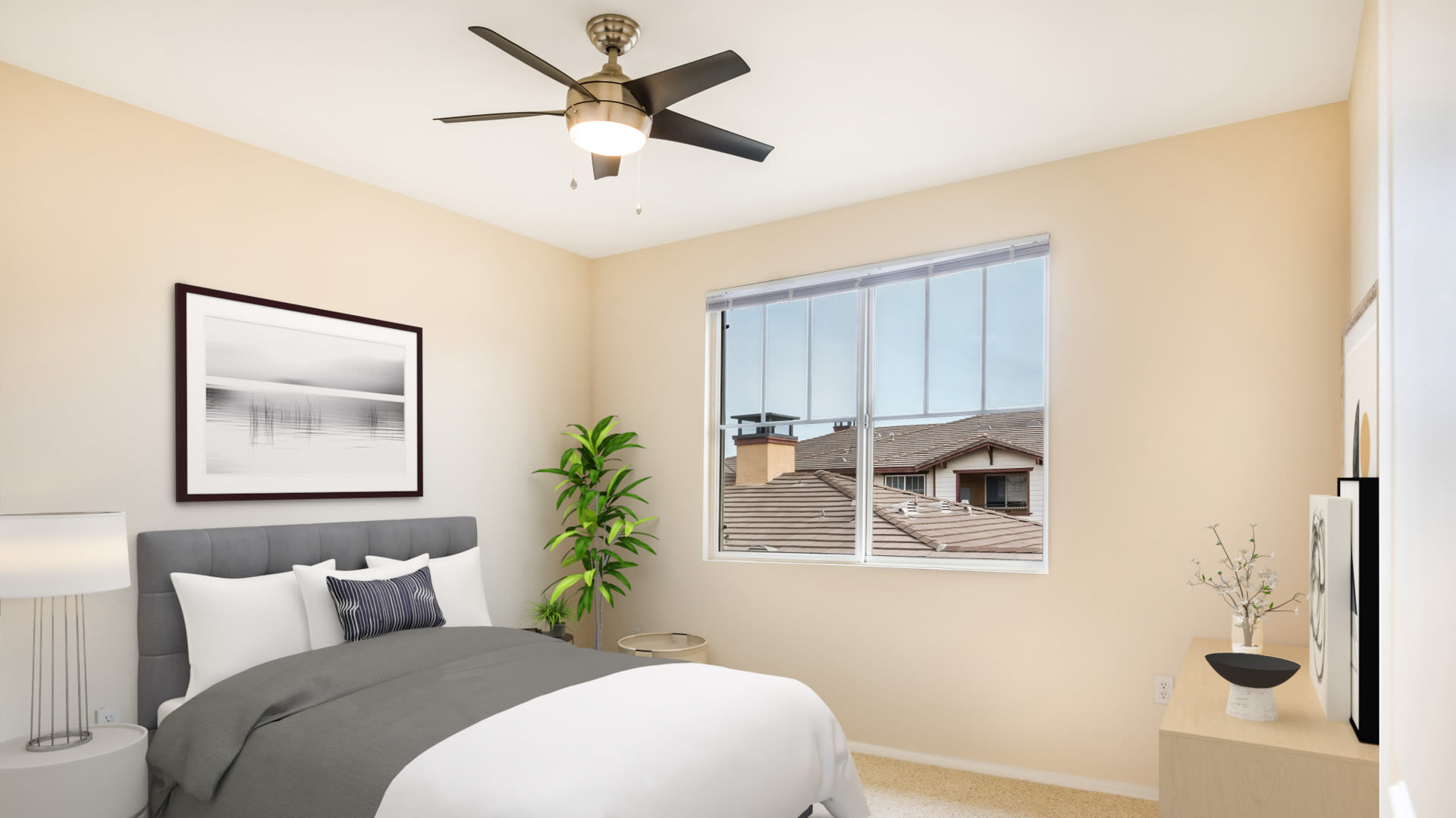 The Reserve at Empire Lakes Apartments - Bedroom