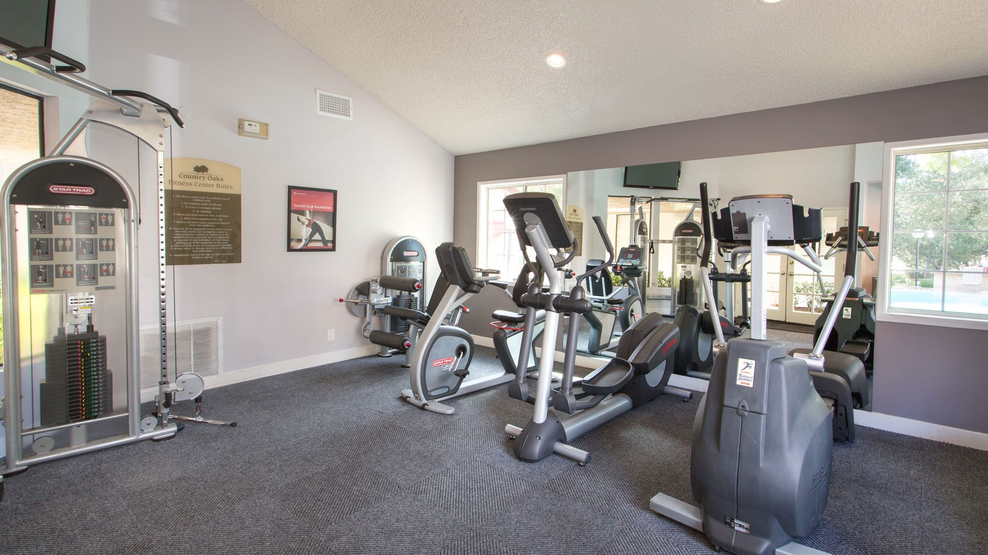 Country Oaks Apartments - Fitness Center