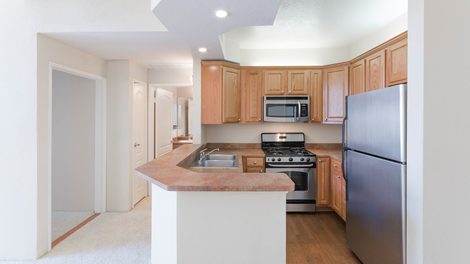 Academy Village Apartments - Kitchen