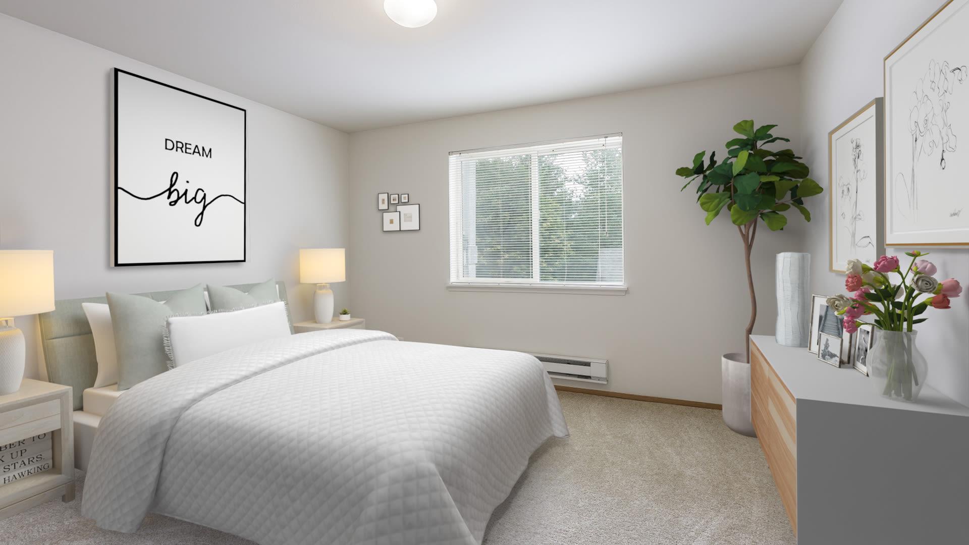 Heritage Ridge Apartments - Carpeted Bedroom