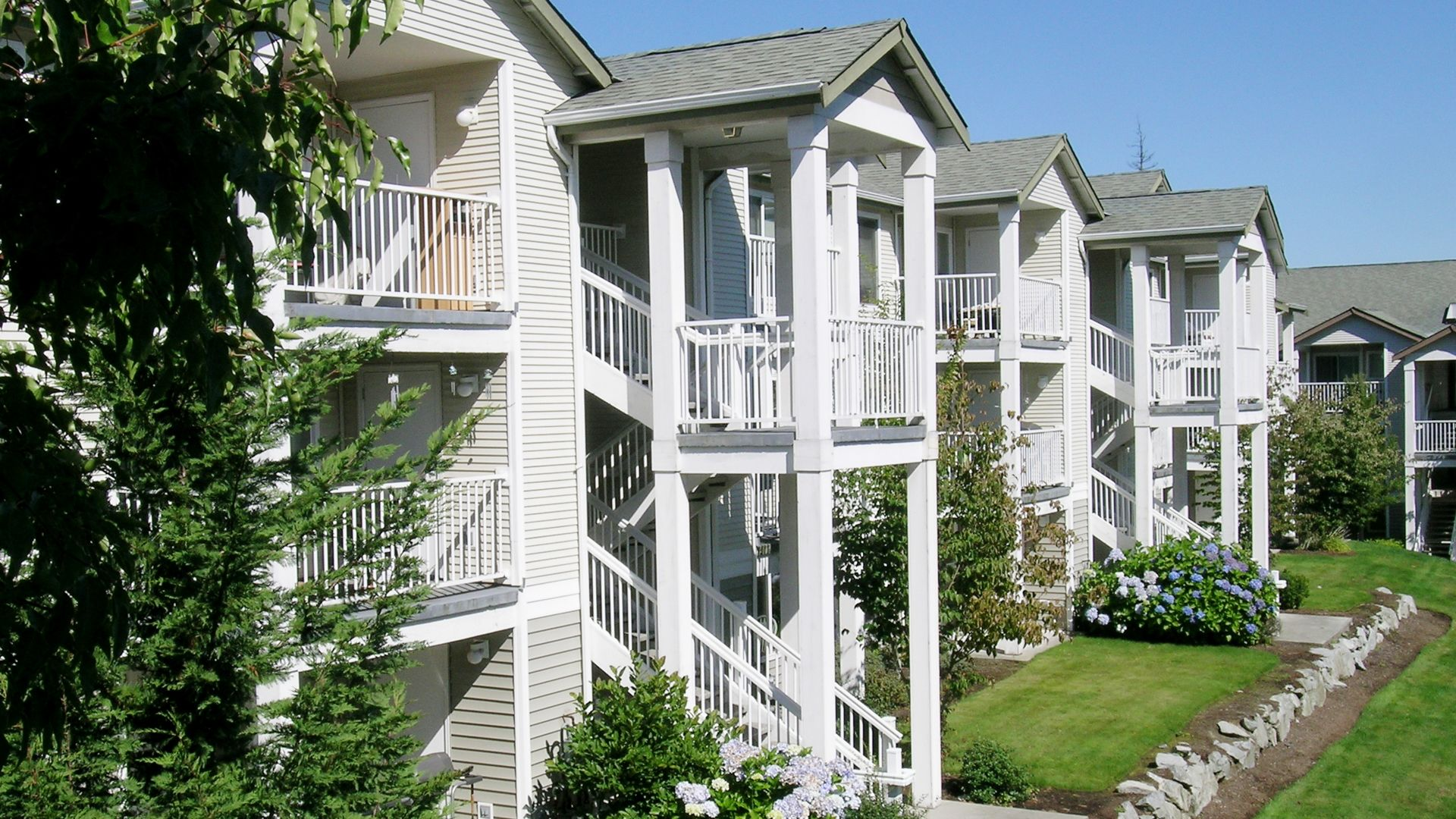 Harrison Square Apartments - Exterior