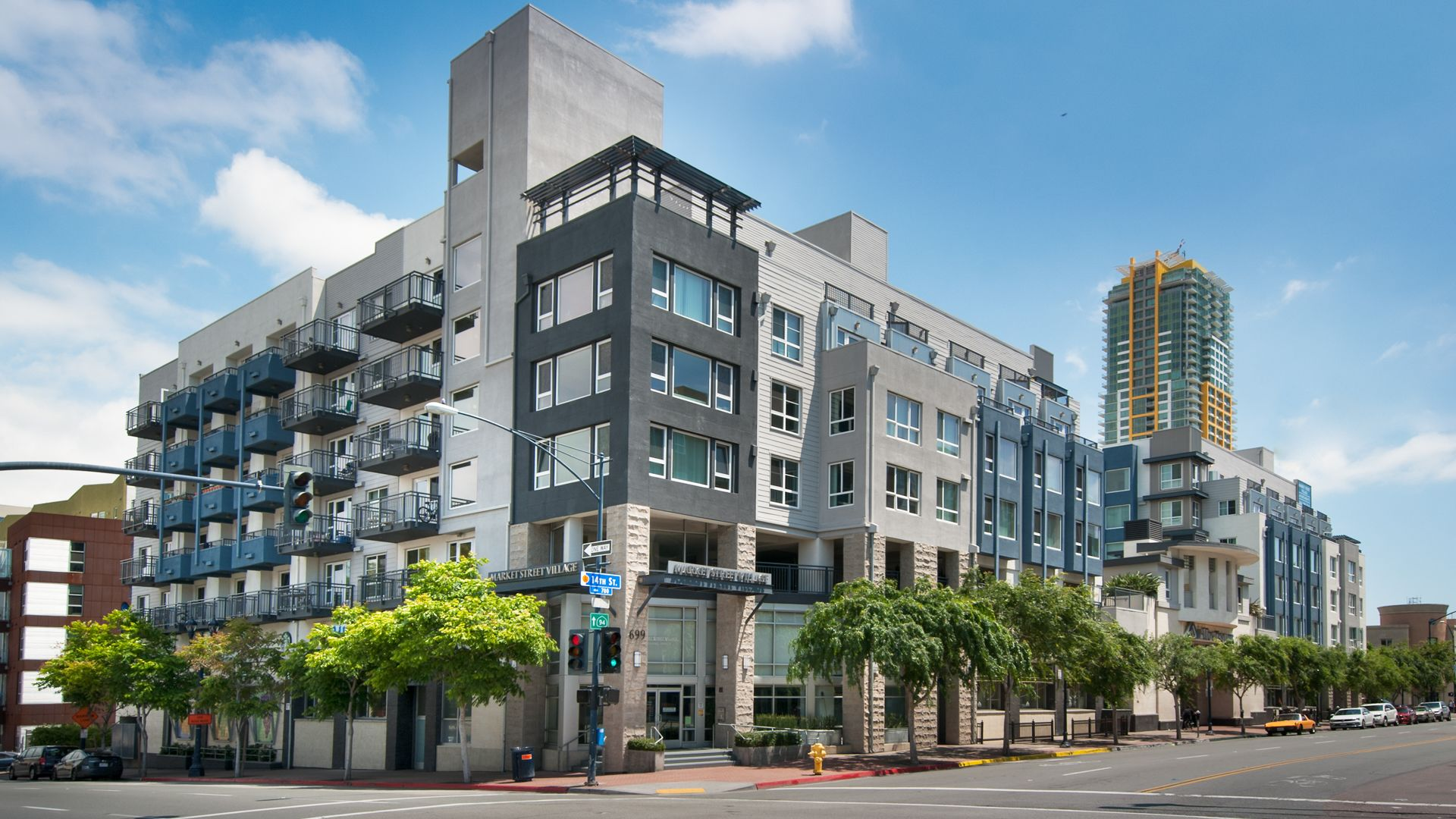 market street village apartments downtown san diego 699 14th street. Black Bedroom Furniture Sets. Home Design Ideas