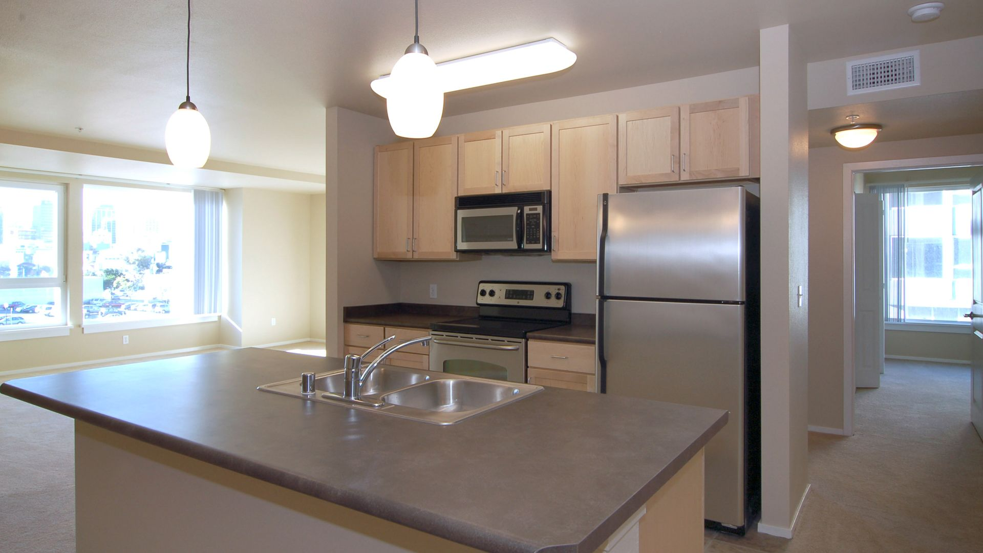 Market Street Village Apartments - Kitchen