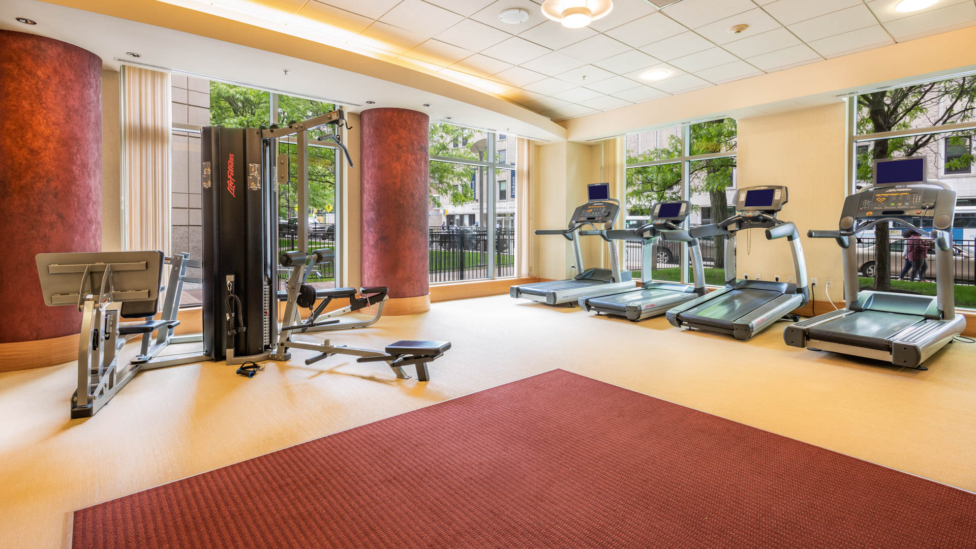 The West End Apartments - Asteria, Villas and Vesta - Fitness Center