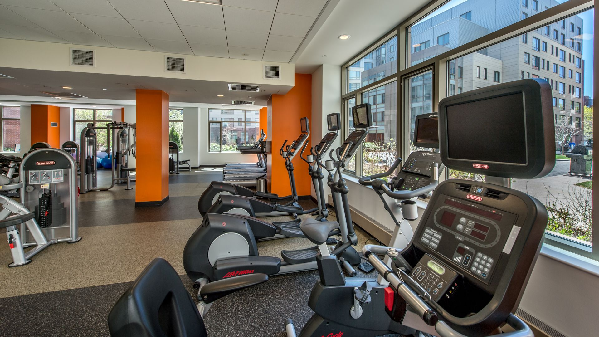 Alt Third Square Apartments   Fitness Center