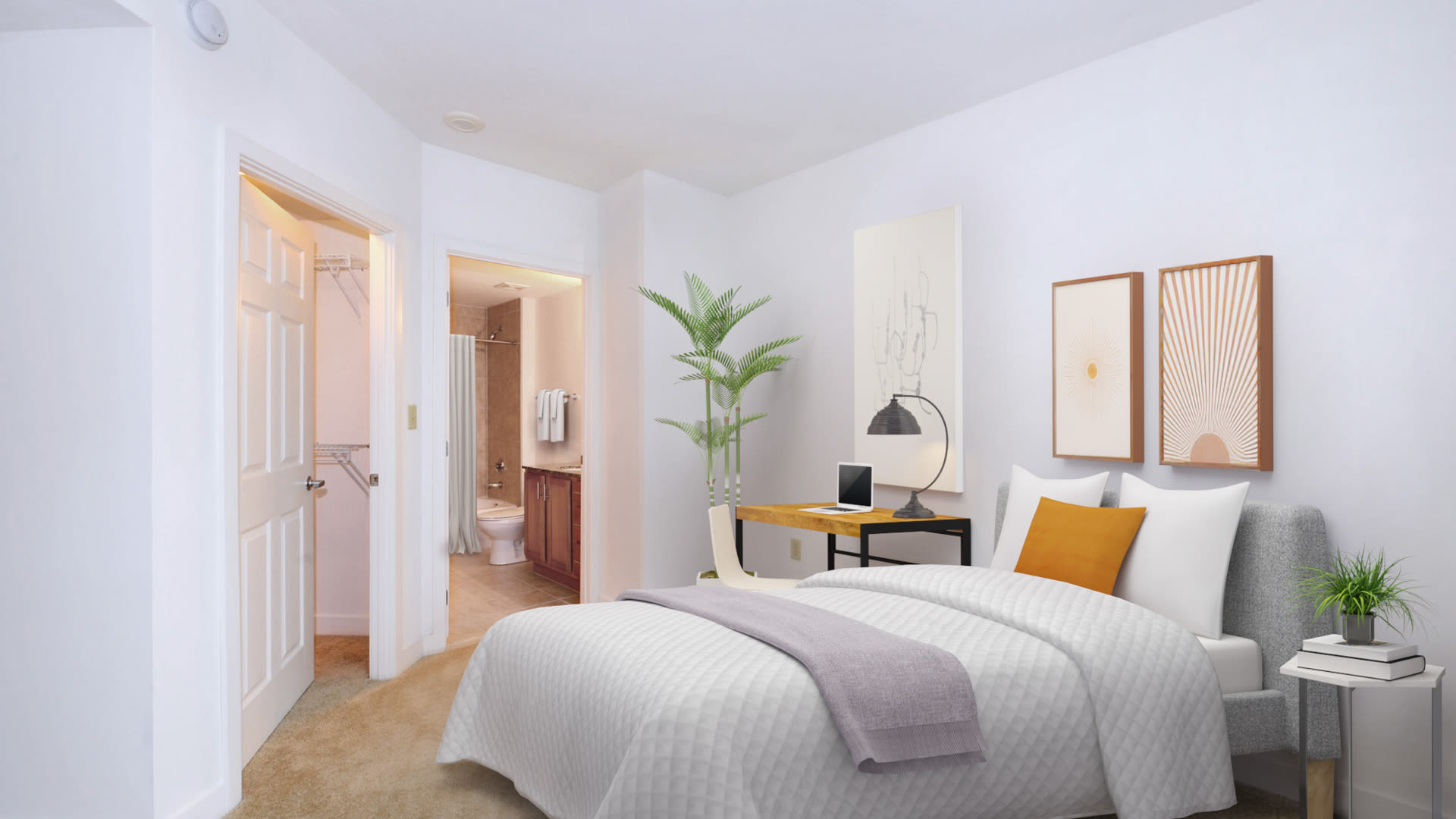The Veridian Apartments - Bedroom