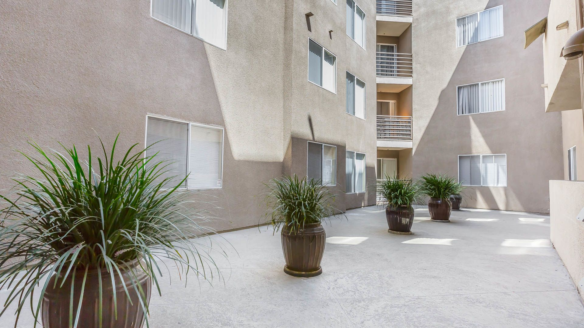 The Cleo Apartments - Courtyard