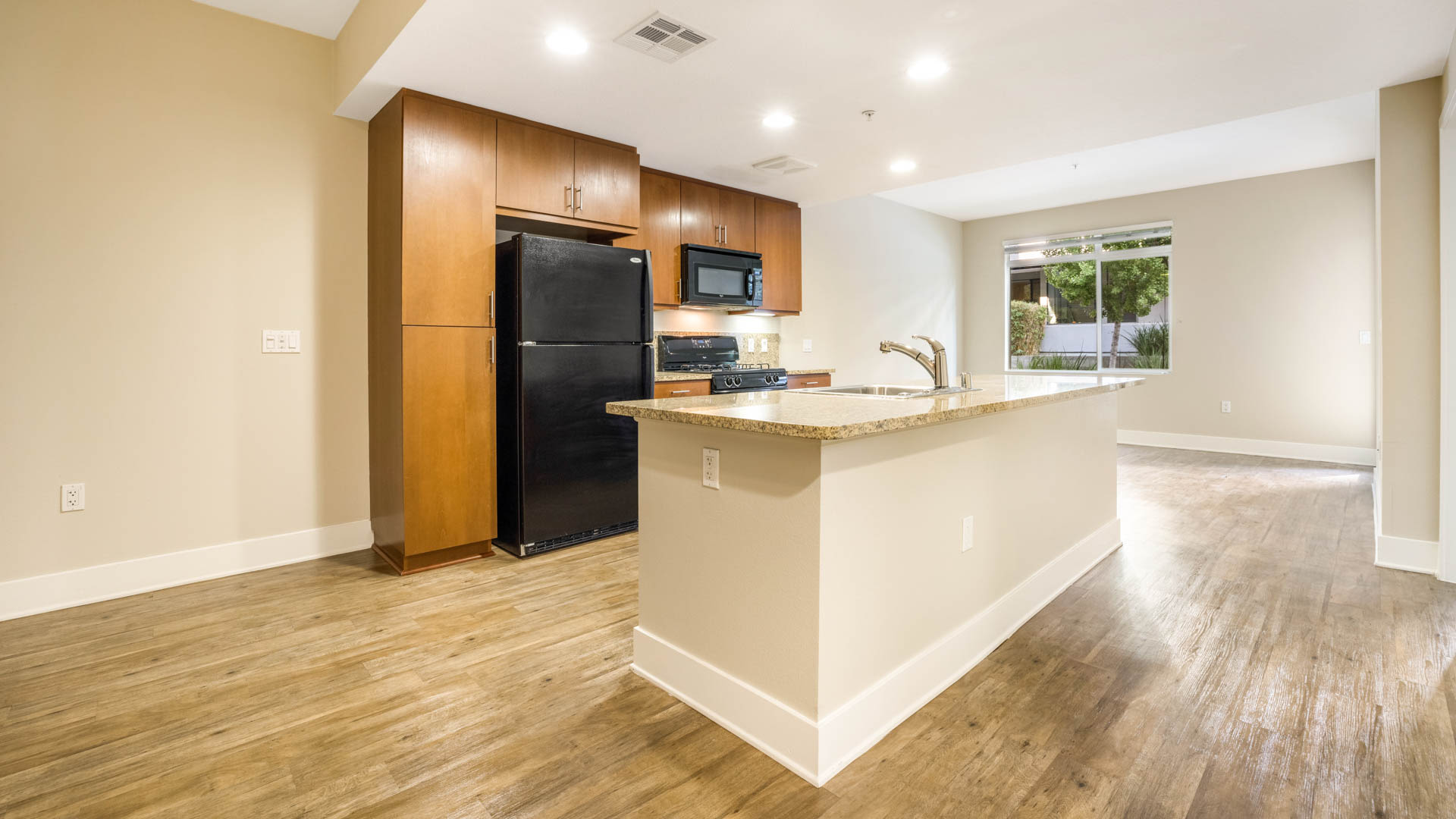 Westgate Apartments - Kitchen and Living Area