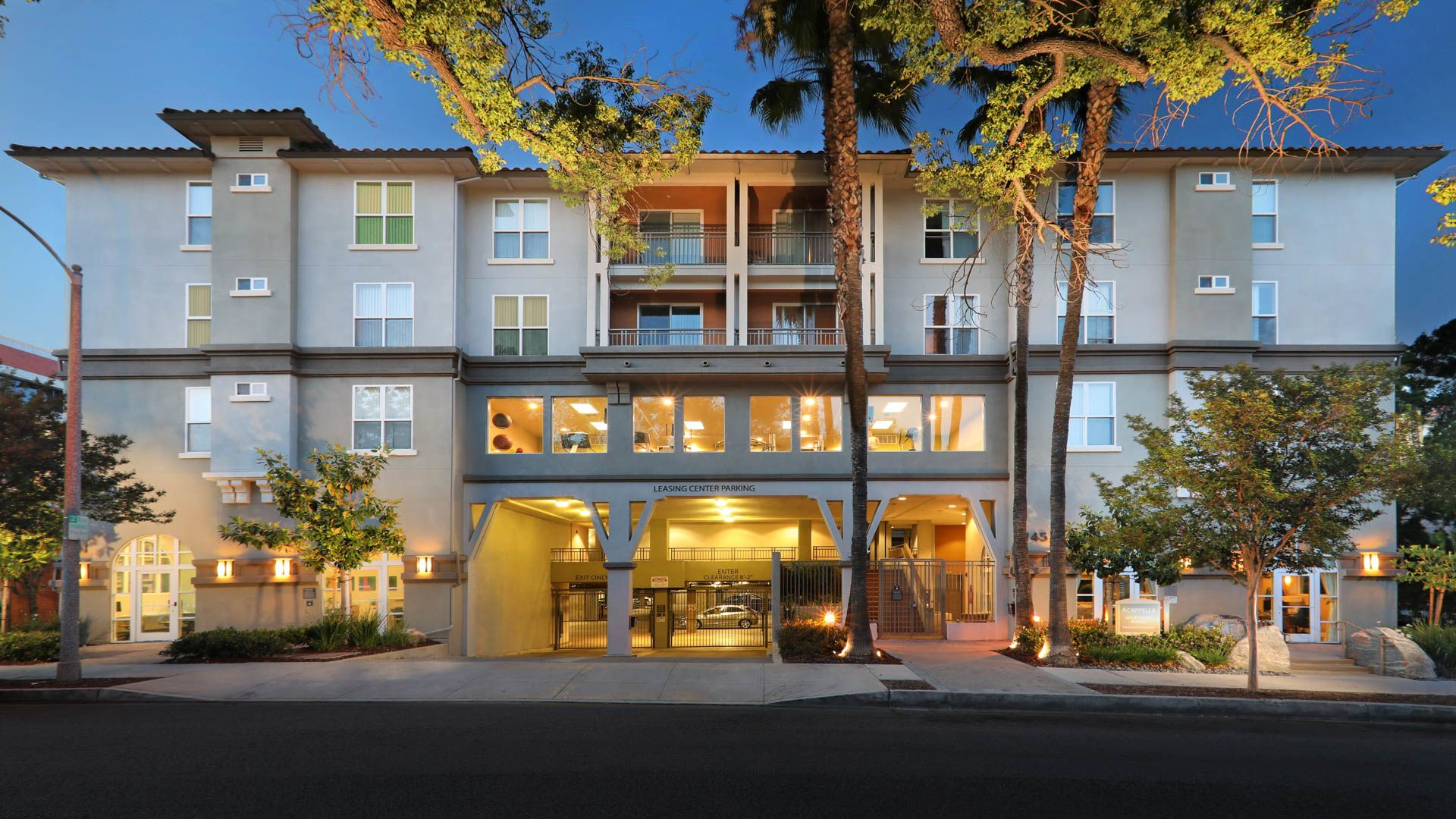 Acappella Pasadena Apartments - Exterior