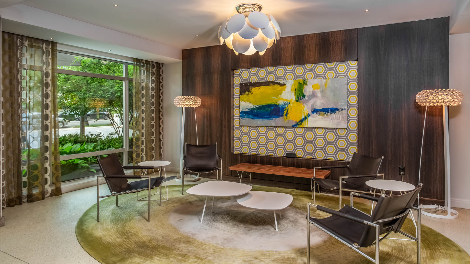 1500 Mass Apartments - Lobby
