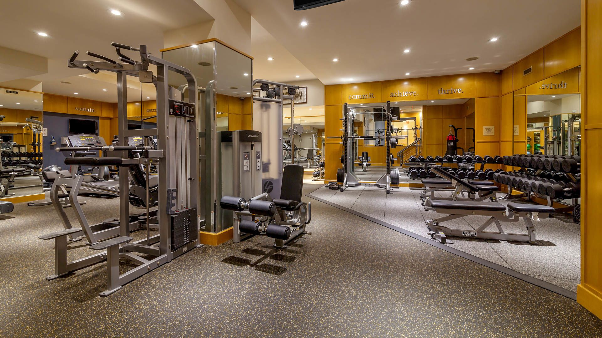160 Riverside Boulevard Apartments - Fitness Center
