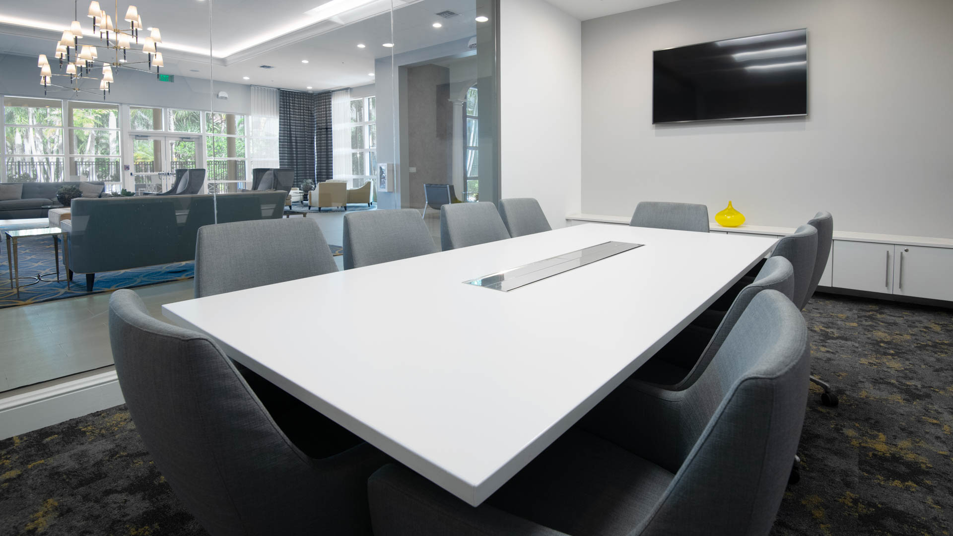 Nexus Sawgrass Apartments - Business Center