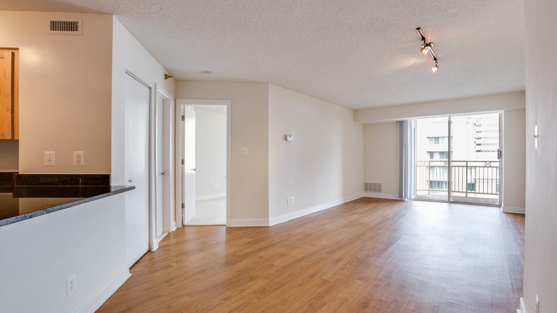 Edgemont At Bethesda Metro Apartments Living Room