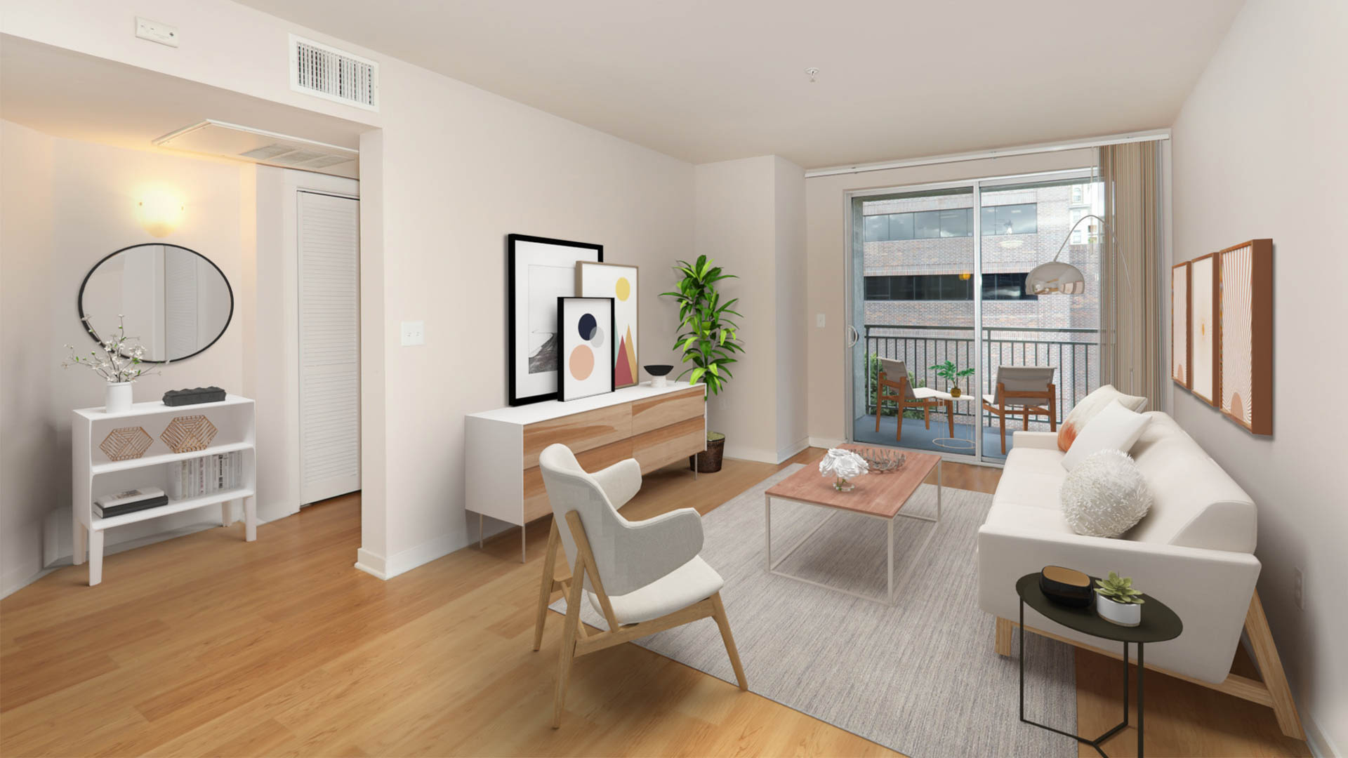 Glo Apartments - Living Area