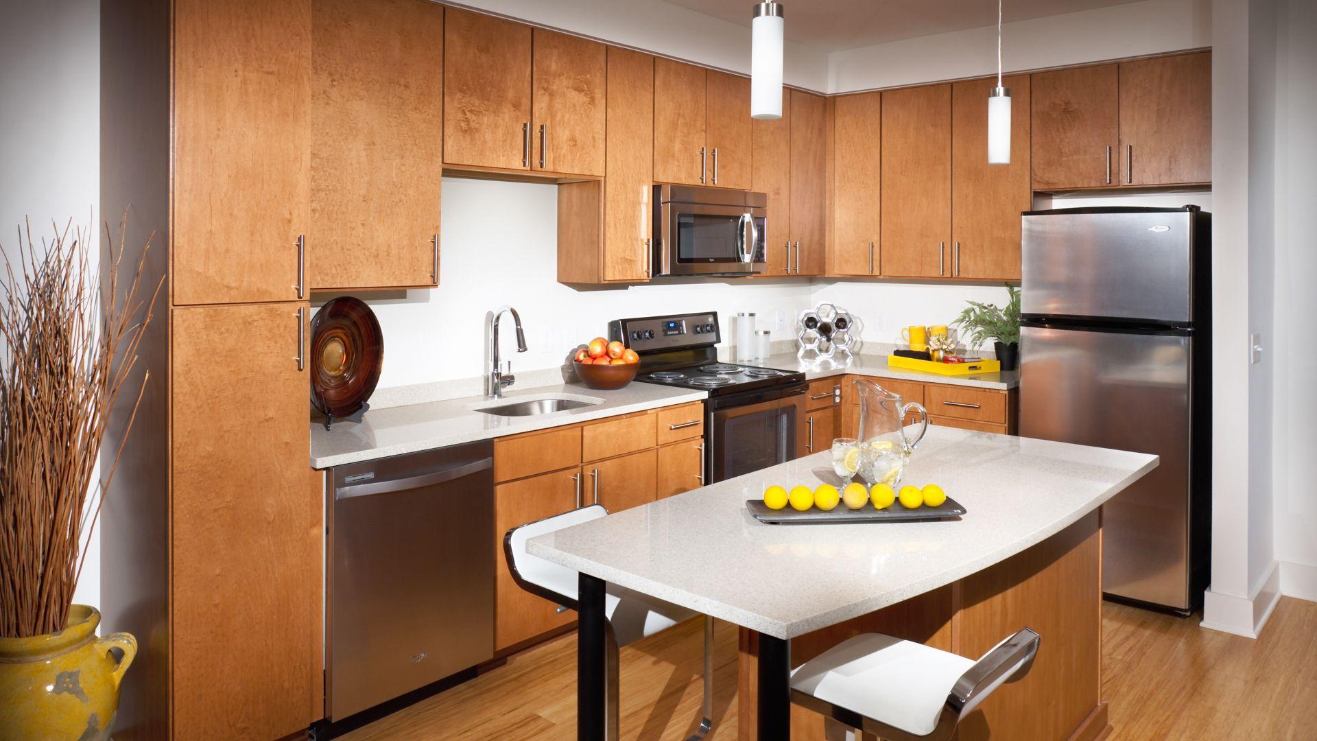 2201 Pershing Apartments Kitchen