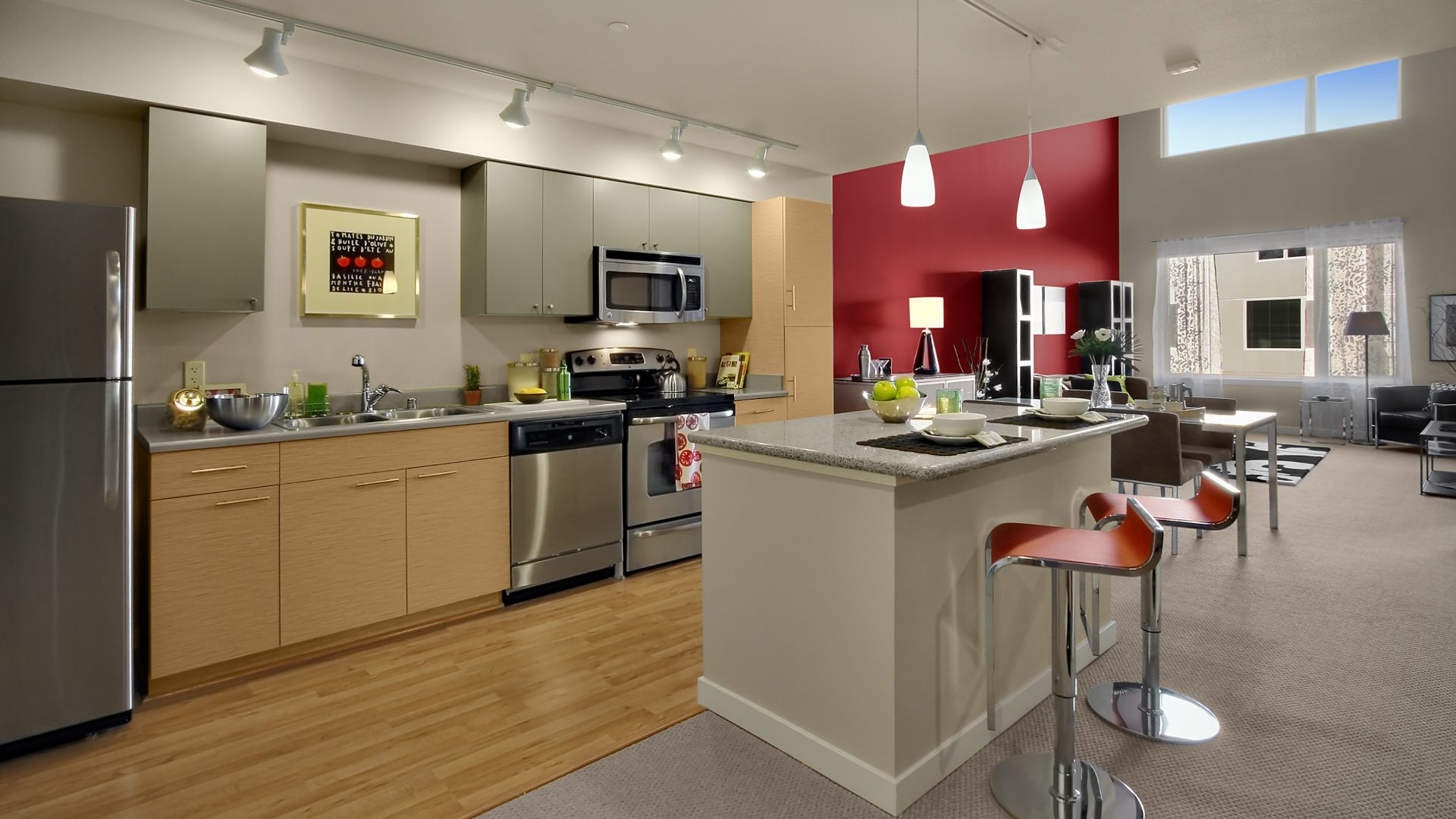 Riverpark Apartments - Kitchen